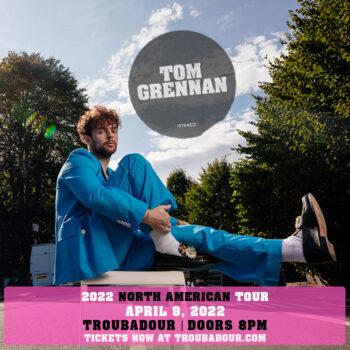 TOM GRENNAN: North American Tour